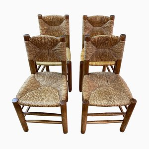 No. 19 or Bauche Chairs by Charlotte Perriand, 1968, Set of 4