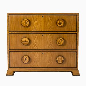 Swedish Modern Chest of Drawers by Otto Schulz for Boet, 1940s