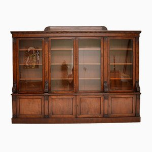 Antique George IV Mahogany Dwarf Bookcase
