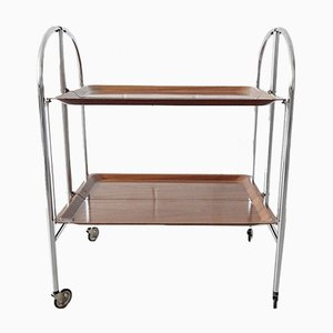 Mid-Century Foldable Trolley from Dinette