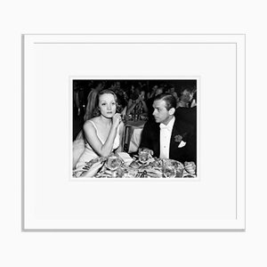 Douglas Fairbanks Jr. & Marlene Dietrich Archival Pigment Print Framed in White by Everett Collection