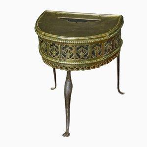Georgian Brass Footman