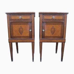 Tables de Chevet Style Louis XV, 1950s, Set de 2