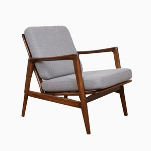 Mid-Century Polish Stefan Lounge Chair, 1960s
