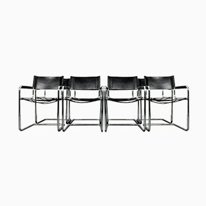 Model S34 Chairs by Mart Stam & Marcel Breuer for Linea Veam, 1970s, Set of 8