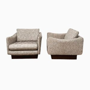Lounge Chairs by Michel Mortier for Steiner, 1960s, Set of 2