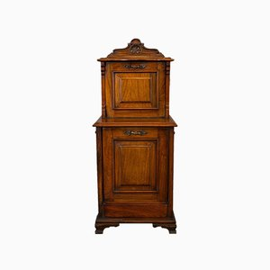 Antique English Walnut Purdonium