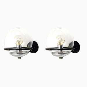 Mod. 238/1 Sconces by Gino Sarfatti for Arteluce, 1952, Set of 2