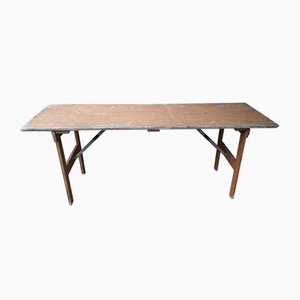 Vintage Folding Dining Table