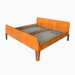 Vintage Danish Teak King Size Bed