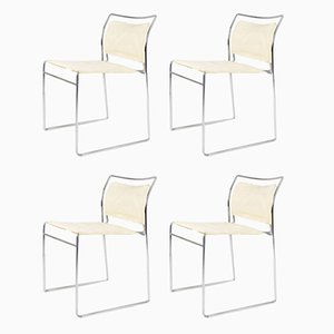 Tulu Chairs by Kazuhide Takahama for Gavina, 1960s, Set of 4