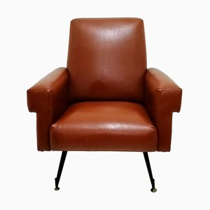 Italian Modern Lounge Chair, 1960s