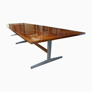 Large Dining Table by Michael Conrad, Henner Werner, Detlef Unger and Dieter Raffler for Wilkhahn, 1967