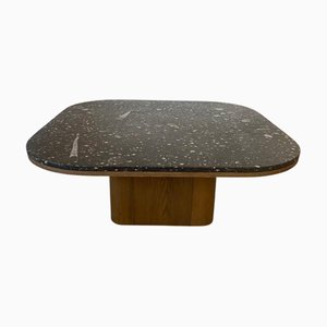 FM 5 Cubus Stone Fossil Coffee Table, 1979