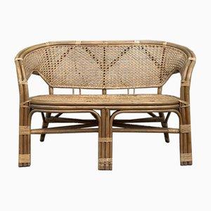 Mid-Century Danish Bamboo Sofa