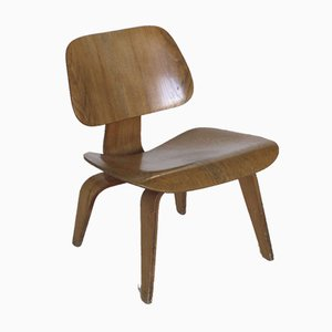 LCW Lounge Chair in Ash by Charles & Ray Eames for Evans / Herman Miller, 1950s