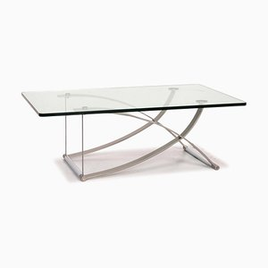 RB 1150 Glass & Metal Coffee Table from Rolf Benz