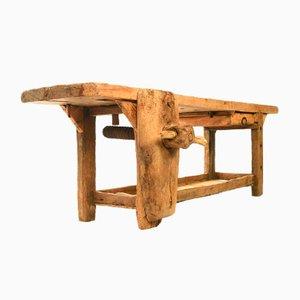 Vintage Oak Workbench, 1920s