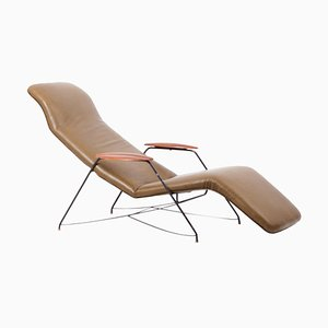 Vintage Brazilian Chaise Longue by Carlo Hauner & Martin Eisler, 1950s