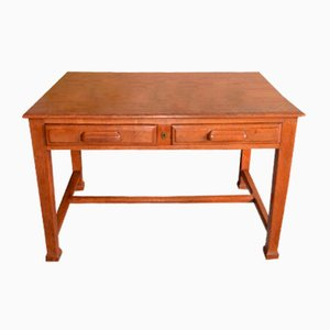 Antiker Jugendstil Schreibtisch aus Eiche