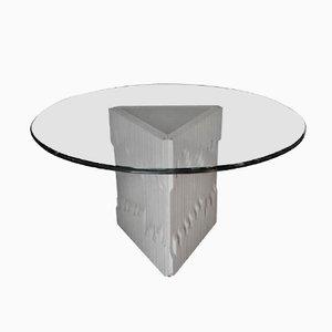 Table de Salle à Manger Piedestal par Frigerio Di Desio, 1970
