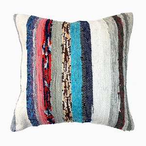 Vintage Turkish Kilim Wool Cushion Cover