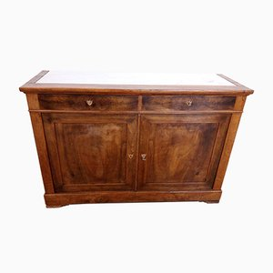 Low 19th-Century French Walnut Sideboard