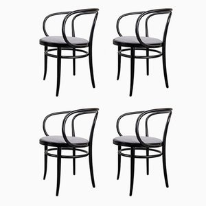 Model 209 Dining Chairs by Michael Thonet for Thonet, 1990s, Set of 4
