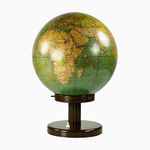 Beleuchteter Glas Globus von Räth, 1920er
