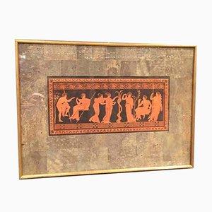 Neoklassizistische Pompejanische Drucke, 6er Set