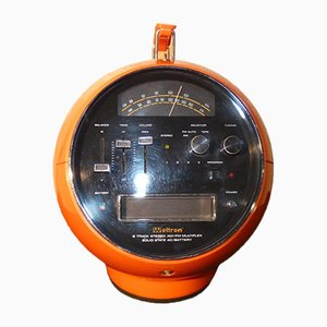 Model 2001 Stereo 8 Space Ball Radio from Weltron, 1970s