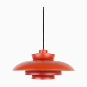 Danish Penta City Ceiling Lamp by Johannes Hammerborg for Fog & Mørup, 1960s