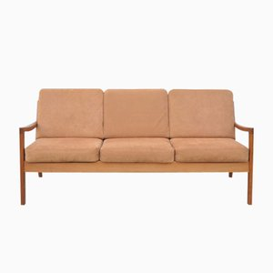 Mid-Century Teak Senator Sofa by Ole Wanscher for Cado