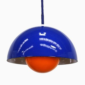 Flowerpot Ceiling Lamp by Verner Panton for Louis Poulsen, 1970s