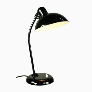 Mid-Century Bauhaus Black Model 6556 Table Lamp by Christian Dell for Kaiser Idell / Kaiser Leuchten