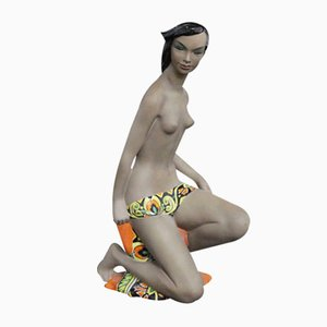 Figure of a Nude Girl from C.I.A. Manna Torino, 1940s