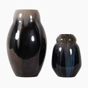 Dänische Vintage Vasen von Michael Andersen & Son, 2er Set