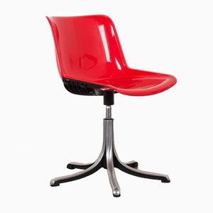 Italian Height Adjustable Modus Swivel Office or Desk Chair by Osvaldo Borsani for Tecno, 19070s