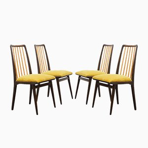 Director's Dining Chairs, 1950s, Set of 4