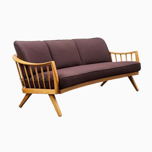 Cherry Wood Sofa from Walter Knoll / Wilhelm Knoll, 1950s