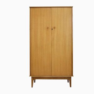 Vintage Walnut Wardrobe by Alfred Cox for Heal's, 1960s