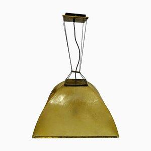 Ceiling Lamp by Salvatore Gregorietti for Lamperti, 1970s