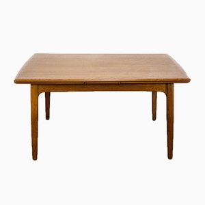Danish Teak Extendable Dining Table by Svend Aage Madsen for K.Knudsen & Son, 1960s