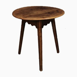 18th-Century Cherrywood Cricket Table