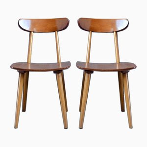Scandinavian Dining Chairs from Hiller, 1960s, Set of 2