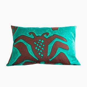 Feather Throw Pillow, 1960s