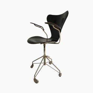 Early Edition Desk Chair by Arne Jacobsen for Fritz Hansen, 1961