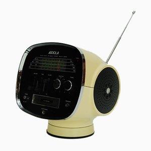 Radio multibanda estéreo de estado sólido modelo TCM 5500 era espacial de Audiola Sakura, años 70