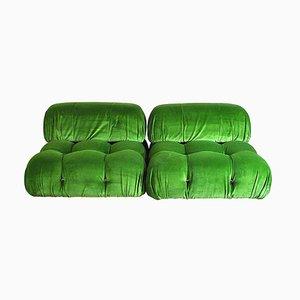 Camaleonda Modular Sofa by Mario Bellini for B&B Italia / C&B Italia, 1970s, Set of 2