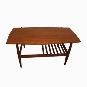 Italian Teak Coffee Table, 1970s
